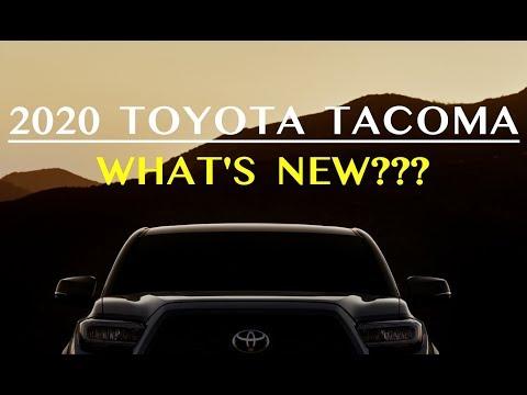 The 2020 Toyota Tacoma