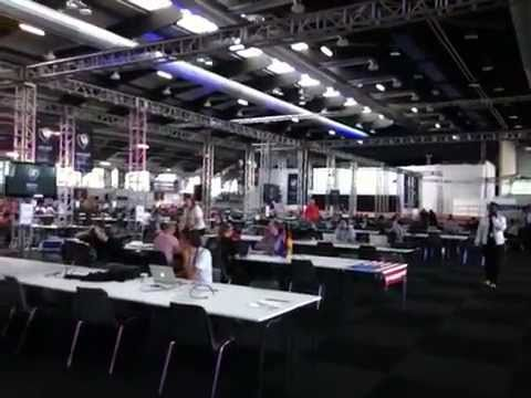 Eurovision 2011: A Window On The Press Centre