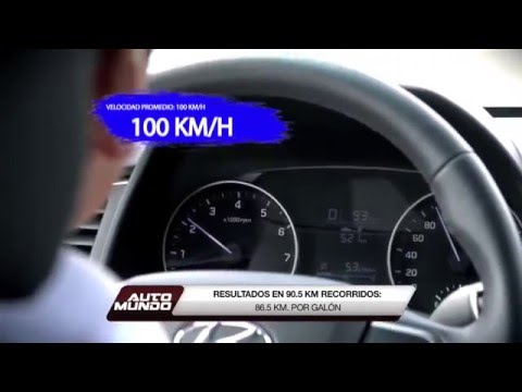 All New Elantra 2017 Prueba de Combustible