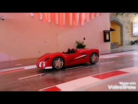 Let's go ride to Ferrari world abudhabi…