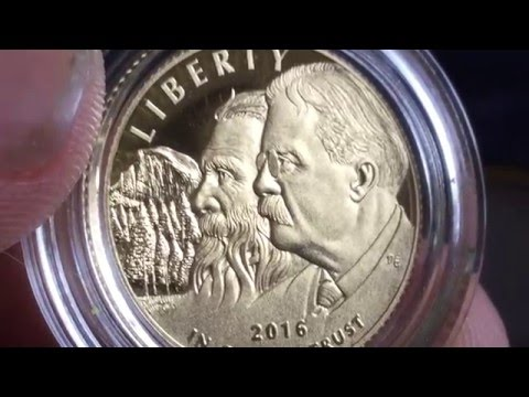 2016 National Park Service 100th Anniversary Coin Set Unboxing & Choppin Broccoli