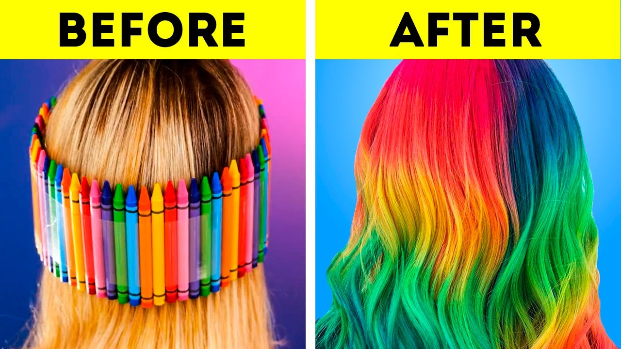 Cool Beauty Tricks, Hair Styling Hacks And Nail Art Ideas