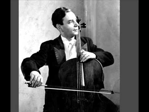 Yakov Slobodkin plays Carl Maria Von Weber Sonata (arr.Piatigorsky) with Flier