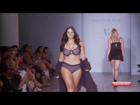 Lingerie Fashion Week Plus size