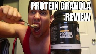 Myprotein Protein Granola Review - Chocolate Caramel Oaty Goodness