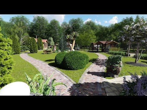 Проект благоустройства и озеленения участка 30 соток