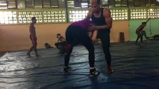 Lucie Pudilová UFC - MMA training Cuba...