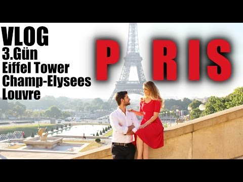 Paris Vlog | 3.Gün | Eiffel Tower | Champ-Elysees