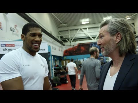 'WHY WOULD YOU WANT TO BE A BOXER??' - ROBBIE SAVAGE TO ANTHONY JOSHUA / JOSHUA-PARKER