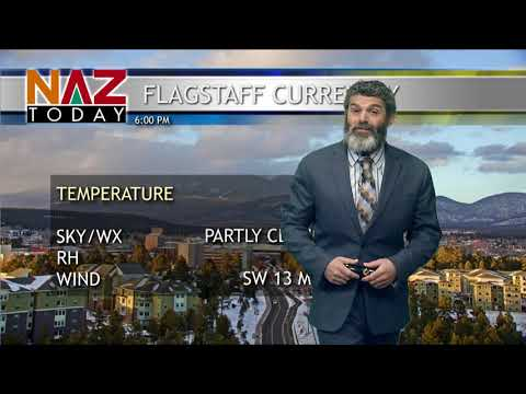 Flagstaff Weather -- February 19, 2019