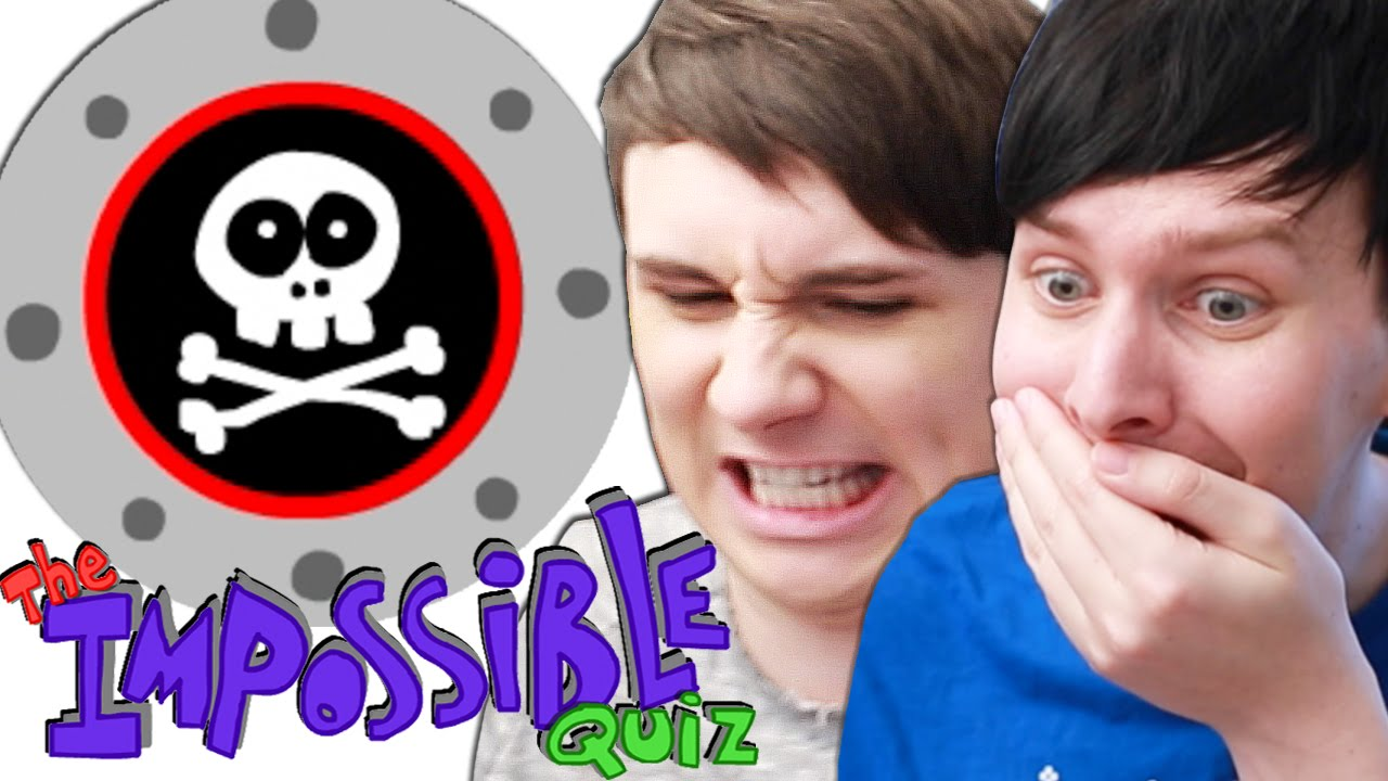 2d0fdf75731 Dan and Phil play THE IMPOSSIBLE QUIZ!  2 - YouTube