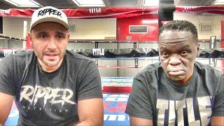Jeff Mayweather & Amer Abdallah on Viddal Riley turning focus to boxing full time