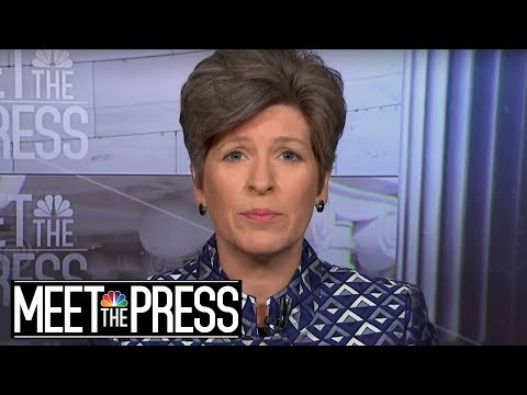 Senator Ernst: Trump Needs To Come To Congress For Further Syria Strikes | Meet The Press | NBC News