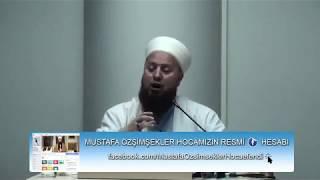 Mustafa Özşimşekler Hocaefendi / İnsanların gaflet ettikleri ay: Şaban Ayı