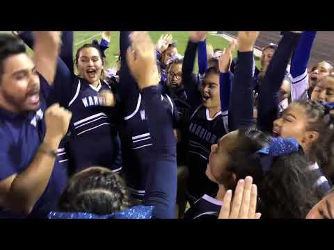 Pueblo & Sunnyside Cheer Squads At Halftime