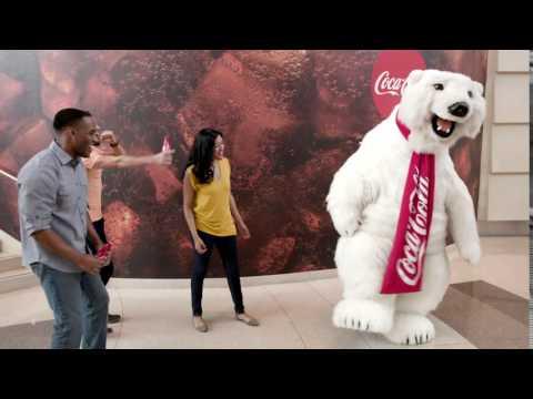 Meet the Coca-Cola Polar Bear at World of Coca-Cola