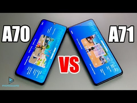 Samsung Galaxy A71 Vs A70 Test Fortnite