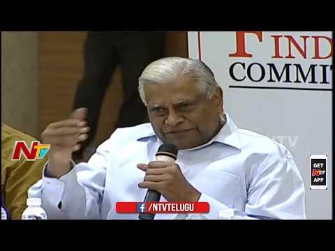K Padmanabhaiah Speech || Pawan Kalyan's JFC Meeting || Janasena || NTV