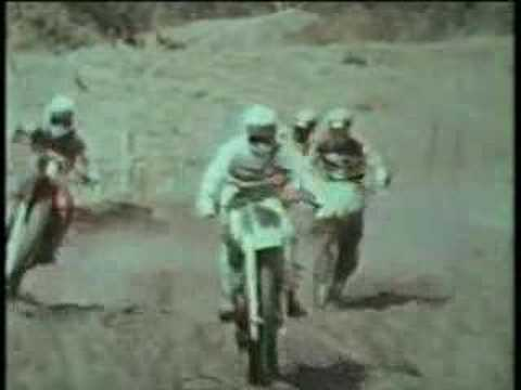 Kawasaki Power To The Ground Vintage Motocross