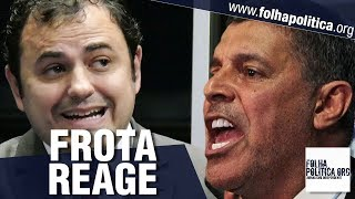 Esquerdistas atacam Sergio Moro e Bolsonaro, Alexandre Frota reage humilhando Jean Wyllys