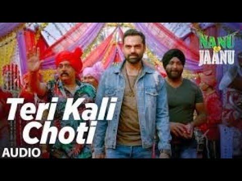 Teri Kaali Choti Lyrical | NANU KI JAANU | Abhay Deol | Patralekhaa | Navraj Hans | Yashraaj By R.p.