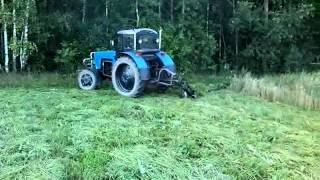 Косьба Трактором Т 40