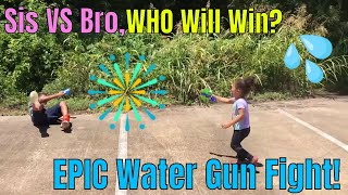Children's Youtube Channel | Most EPIC Kids Water Gun Fight | Best Kids Videos