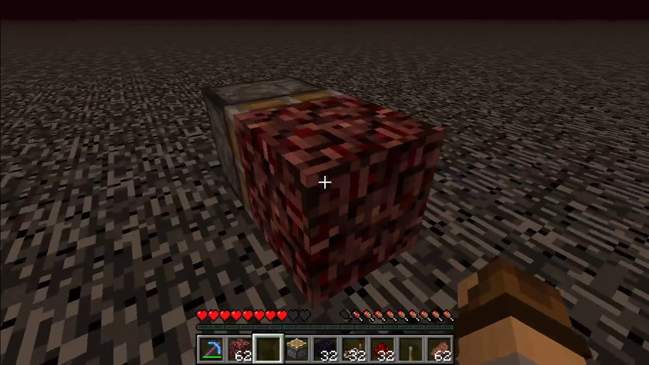 How To Get To The Nether Roof And Breaking Bedrock 1 13 1 1 13 2 In Survival Read Description Youtube