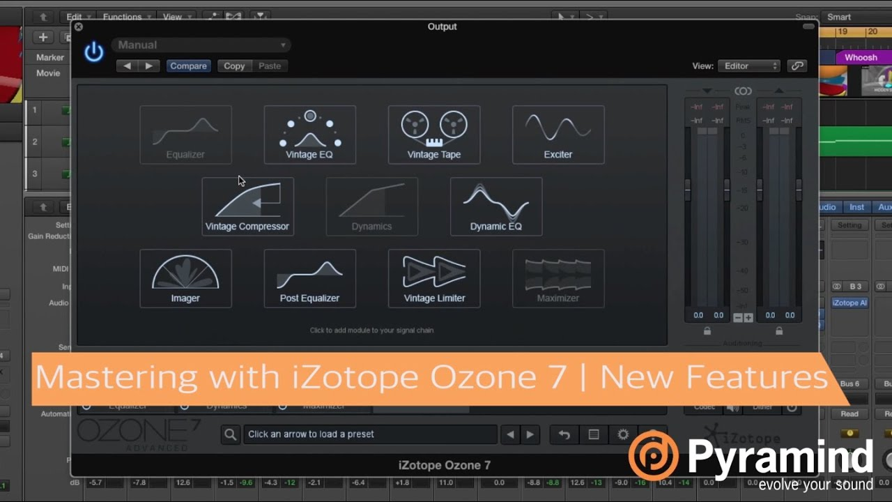 Mastering with iZotope Ozone 7   New Features