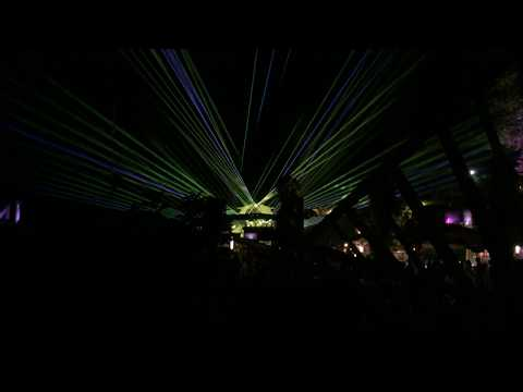 Pagoda Lasers from The Amp During Alix Perez | Shambhala Music Festival | 2019