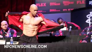 Video 2016 Olympia Press Conference: Kevin Levrone Posedown download MP3, 3GP, MP4, WEBM, AVI, FLV Agustus 2018