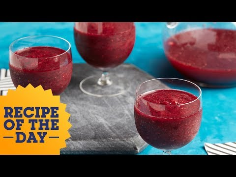 Recipe of the Day: Grown-Up Sangria Slushies | Food Network