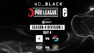WD BLACK TEC Pro League R6S | Season 4 Division 1 | Day 4 Match 2