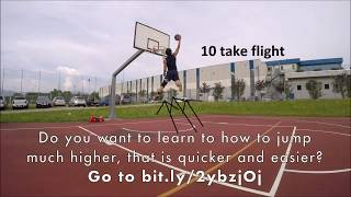 LEARN HOW TO JUMP HIGHER VERTICAL TRAINING [INSTANTLY]