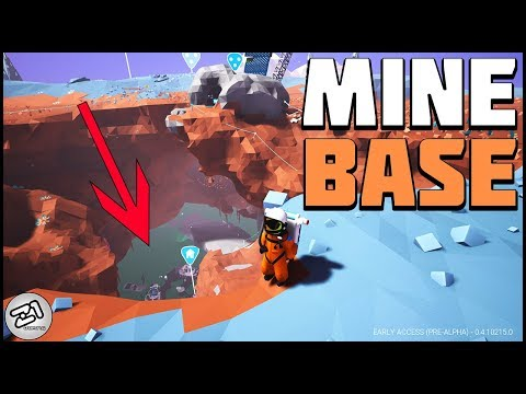 New Excavation BASE ! Underground Mine Base ! Astroneer update 215 Z1 Gaming