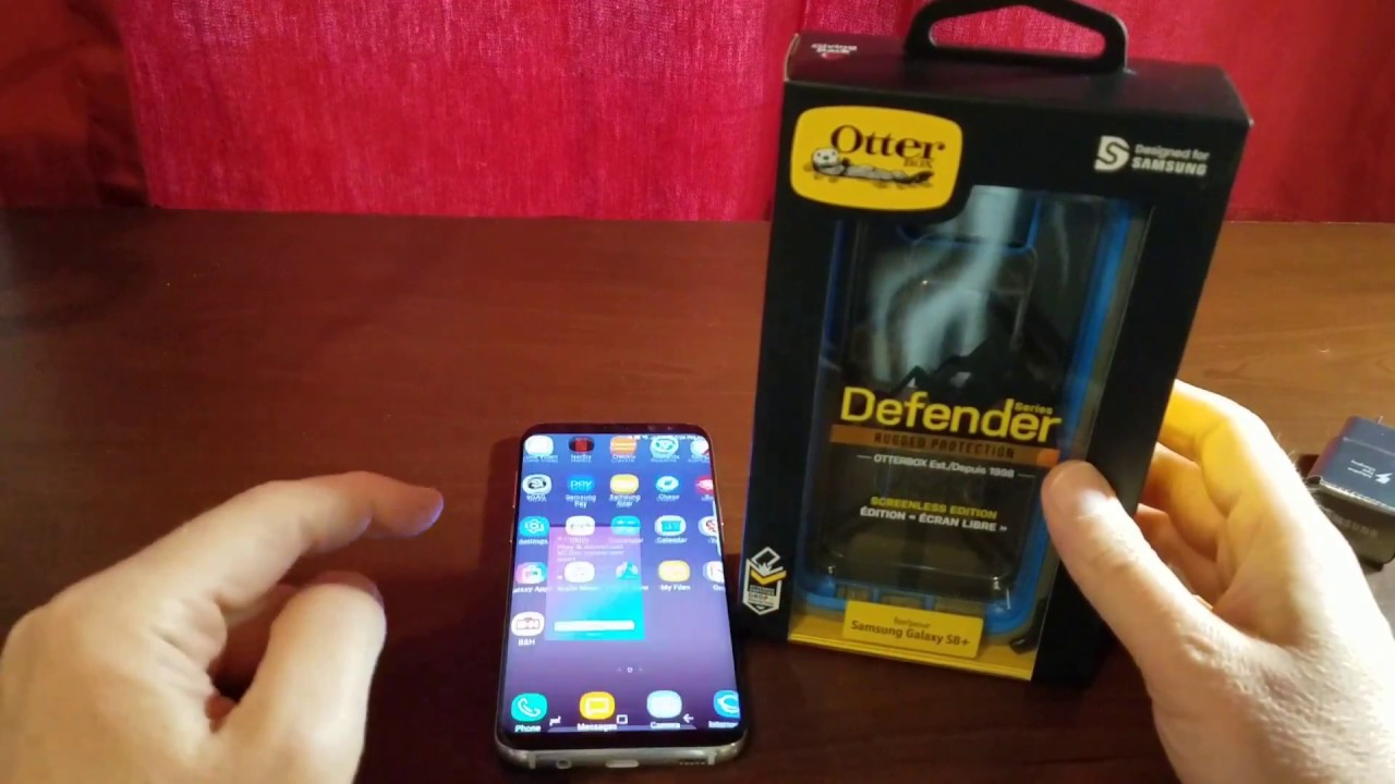 official photos 4c5a1 50e83 Otterbox Defender case for Samsung Galaxy S8+