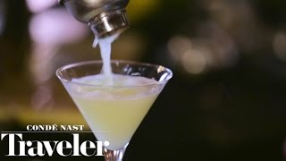 The Pear Martini at Off The Record in Washington D.C.