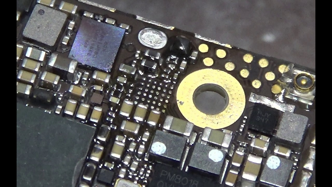 iphone 5s not turning on iphone 5s not turning on fixed by replacing u2 chip 17486