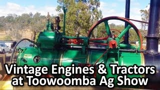 Vintage Engines and Tractors at Toowoomba Ag Show