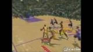 NBA Inside Drive 2004 Xbox Gameplay