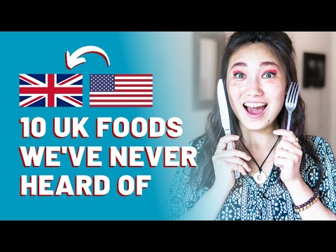 10 British Foods We'd NEVER Heard Of Before Going To The UK (bubble & Squeak, Jellied Eels, Pies...)