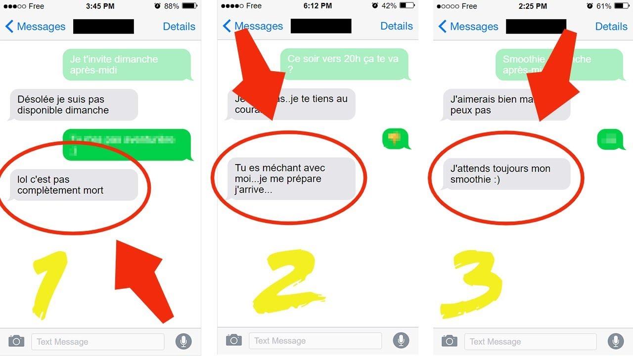 Envoyez Ces 3 Sms à Une Fille Elle Va Vous Courir Apres Comment Relancer Une Fille Pour Un Rdv