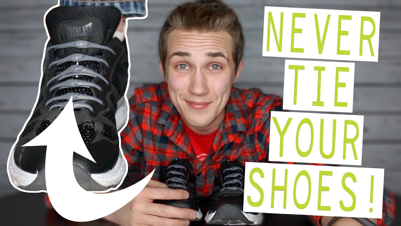 18d3010a97d NEVER TIE YOUR SHOES AGAIN! - YouTube