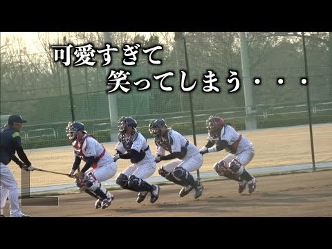 なんだこの練習!?可愛過ぎるのだが・・・【東京ヤクルトスワローズ】