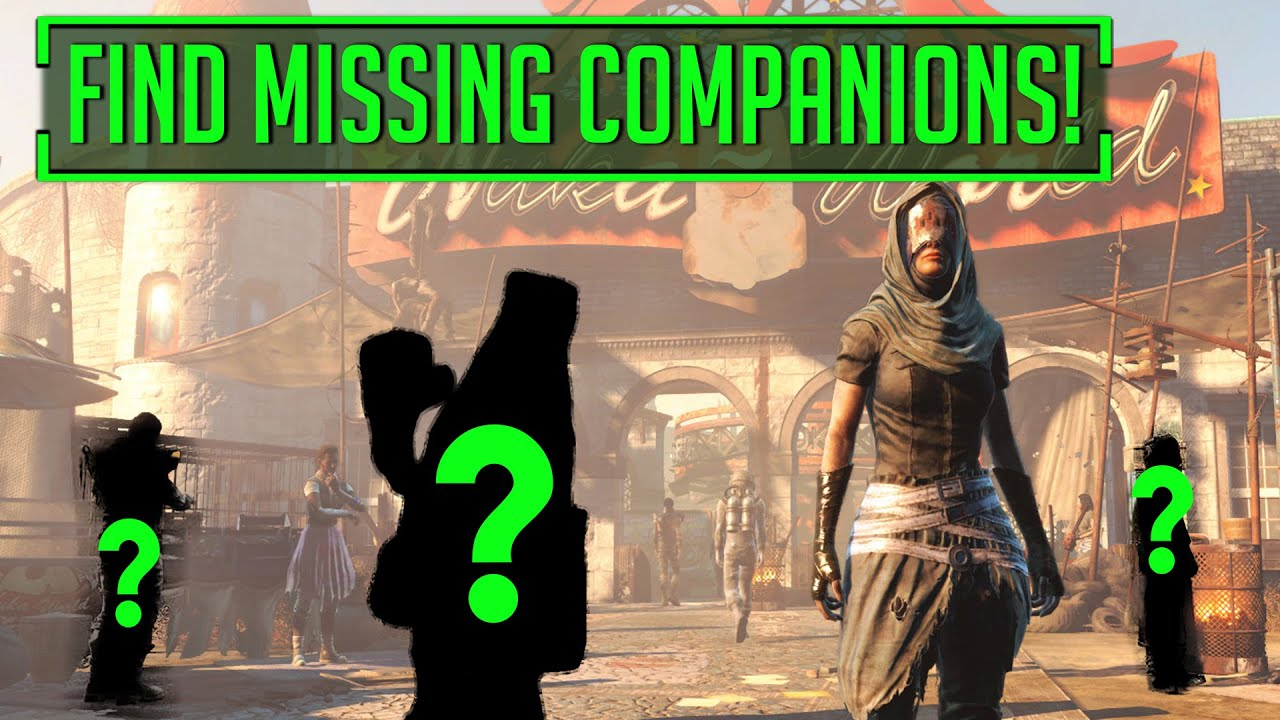 how to find lost companions fallout 4