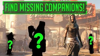 Fallout 4 - Vault Tec DLC Companion Finder Tool Find Lost Companions