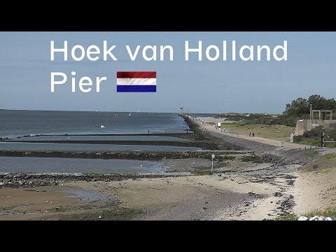 HOLLAND: Hoek van Holland, pier & beach [HD]