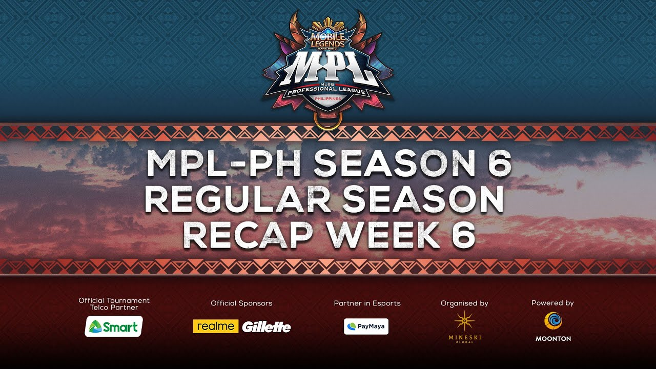 MPL-PH Season 6 | Regular Season Week 6 Highlights