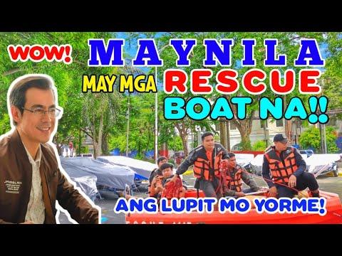 GOOD NEWS MANILA |  MAY MGA RESCUE BOATS NA WOW!! (Manila Latest Update June 14 2020)