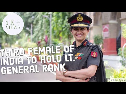 India's First three star Woman General || Major General Madh
